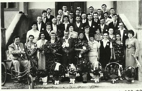 40 évesek kortárstalálkozója Alsósófalva 1985. aug. 23.