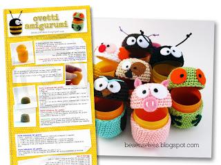 Amigurumi Magazine : IspirAzionI magazine: Amigurumi - un po di basi