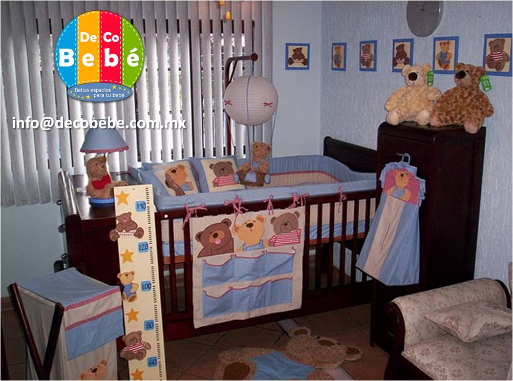 Deco bebe edredones para cuna m xico edredones para cunas - Habitaciones de bebes decoracion ...