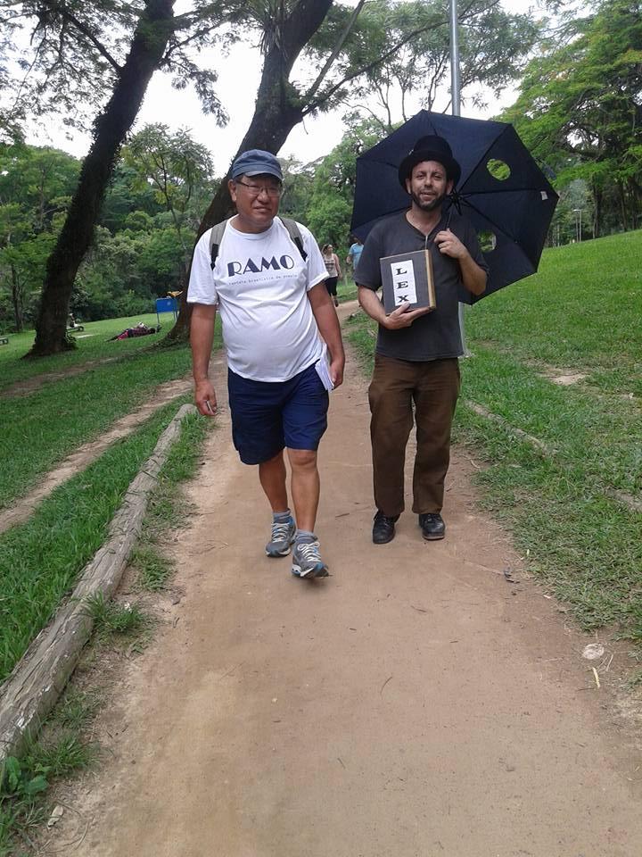 Movimento Ocuparte em parceria com o Coletivo Sarau da Cesta