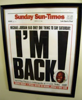 jordan, comeback, headline, i'm back