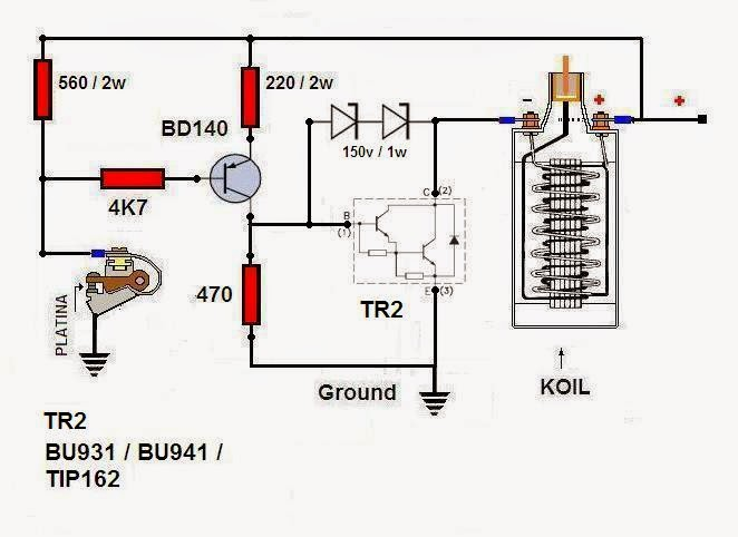 PerPosGndTest in addition P 0900c1528026535a together with 81838 additionally Voltage Regulator Wiring Diagram in addition 2000 Nissan Frontier Spark Plug Wires Diagram. on transistor ignition system coil