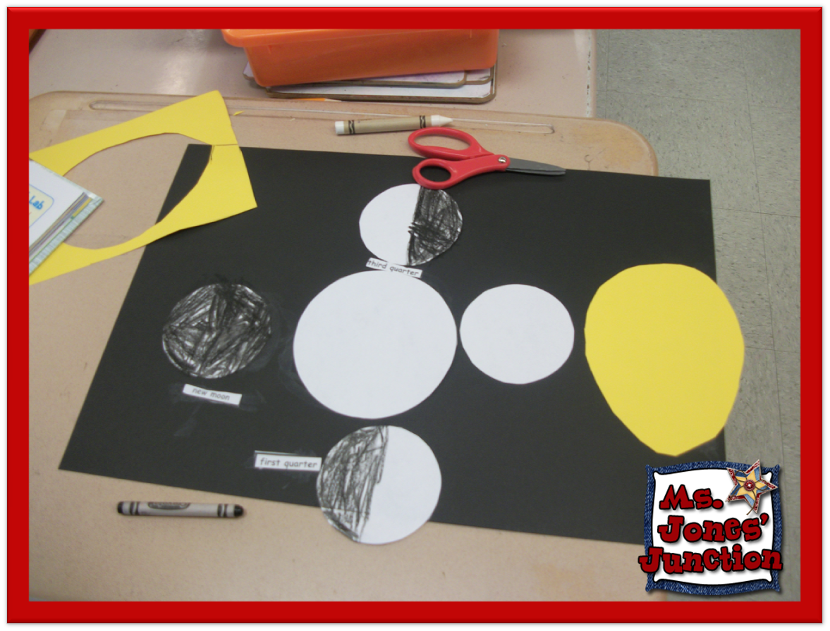 ... grand time making their interpretation of the phases of the moon
