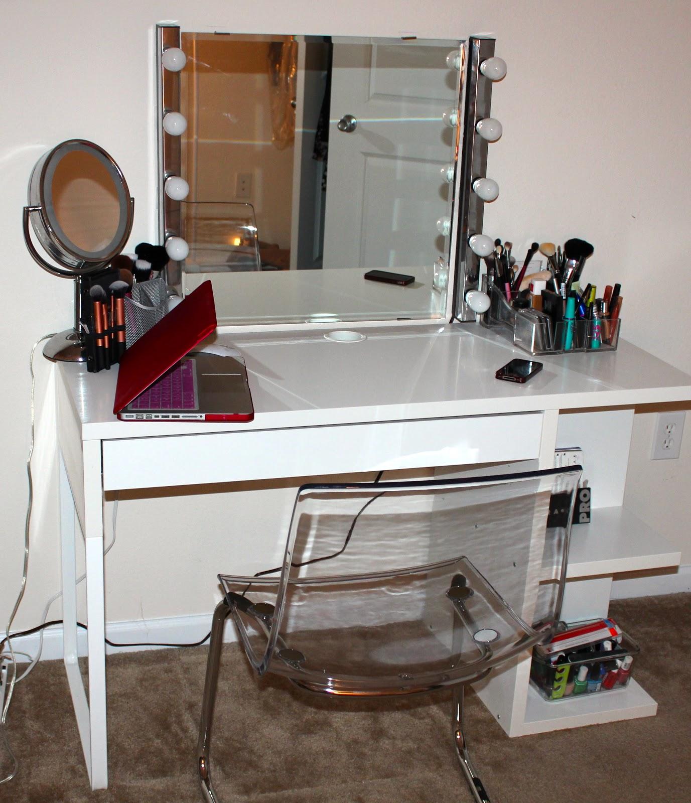 Lekialptbeauty Weekend Project Diy Vanity Desk
