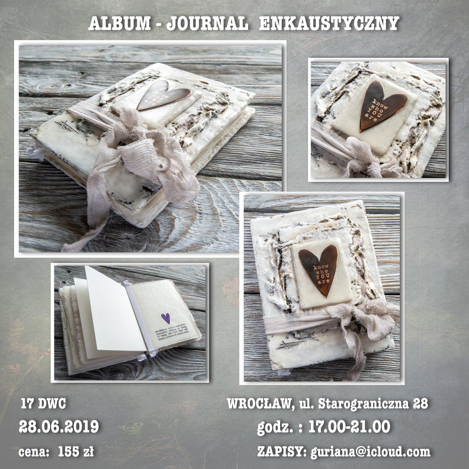 17 DWC Wrocław Album-journal enkaustyczny