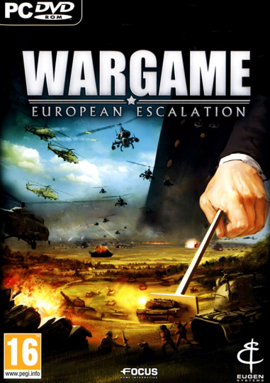 Wargame: European Escalation HD Cover Game