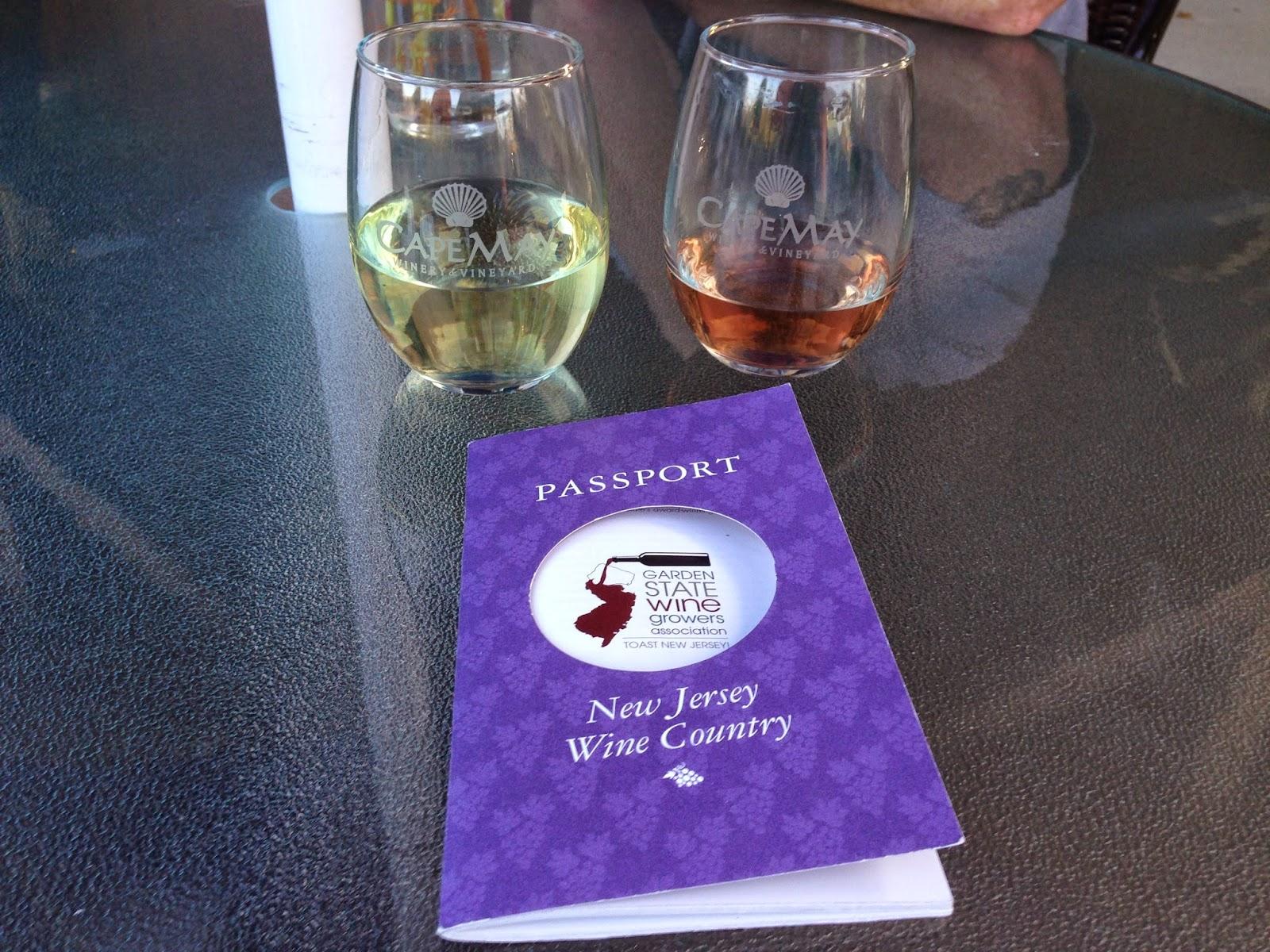 NJ wine passport program - Cape May wine trail