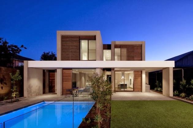 Casa brighton espacios amplios modernos inform - Casas de lujo modernas ...
