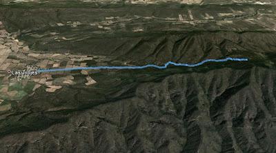 Ruta Las Trojes - Arroyo Zarco