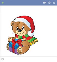 Santa Bear for Facebook