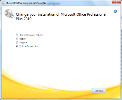 How to Change Product Key of Microsoft Office 2010