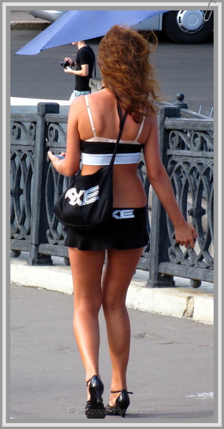Moscow Summer AXE Girl