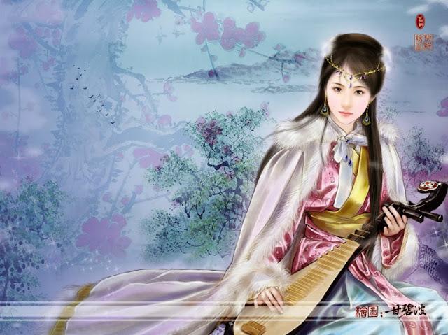 Người đẹp cổ trang Trung Quốc, nguoi dep Trung Hoa