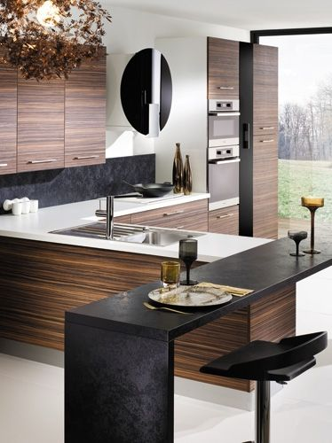 la apariencia m s natural de la madera cocinas con estilo. Black Bedroom Furniture Sets. Home Design Ideas