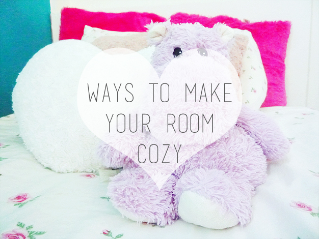 ways to make your room cozy love from be