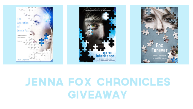 Jenna Fox Chronicles Giveaway