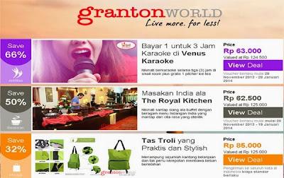 Belanja Online GrantonWorld