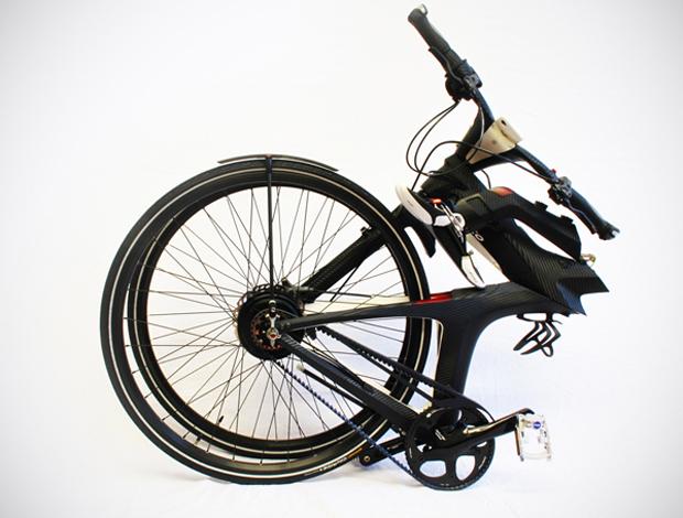 Bicicleta elétrica conecta usuários às redes sociais