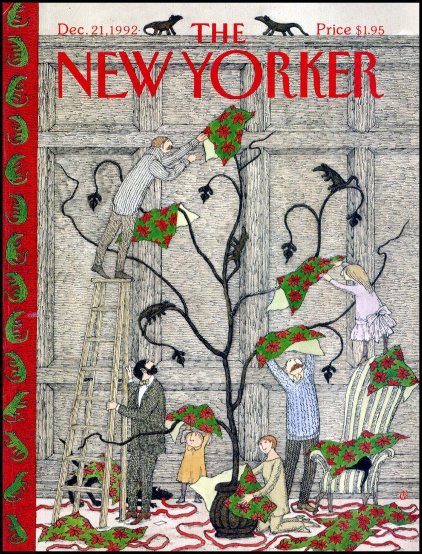 New Yorker Christmas Covers PirateDay