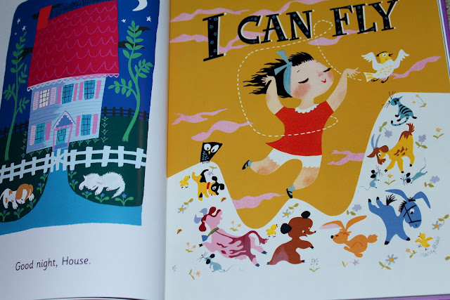 I Can Fly by Ruth Krauss, illustrated by Mary Blair.  1950