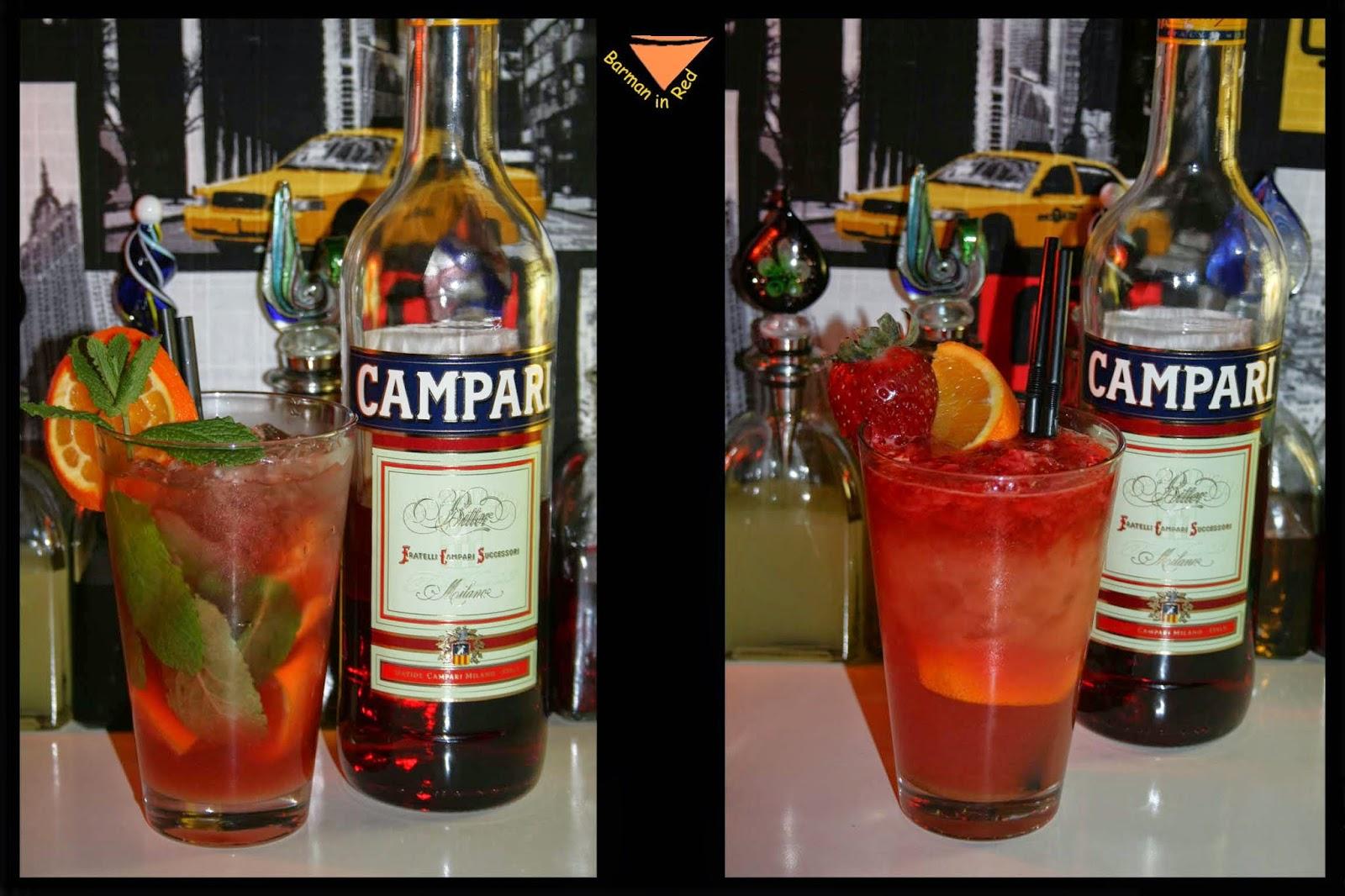 Cocteles Campari