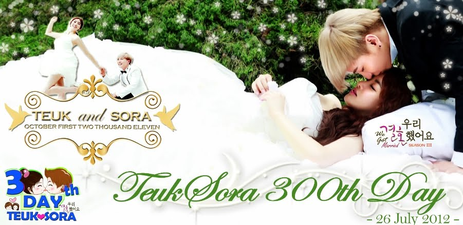 Happy TeukSora 300th Day