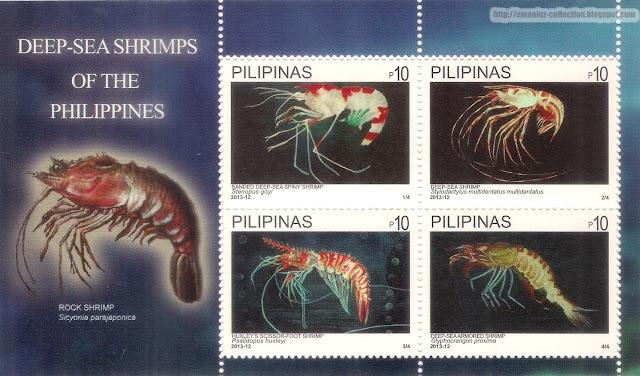 Stamps; Deep-Sea Shrimps of the Philippines