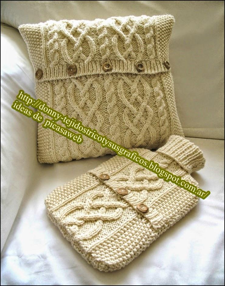 Tejidos a dos agujas tricot patrones graficos todo gratis almohadones tejidos a dos agujas - Hacer cojines de punto ...