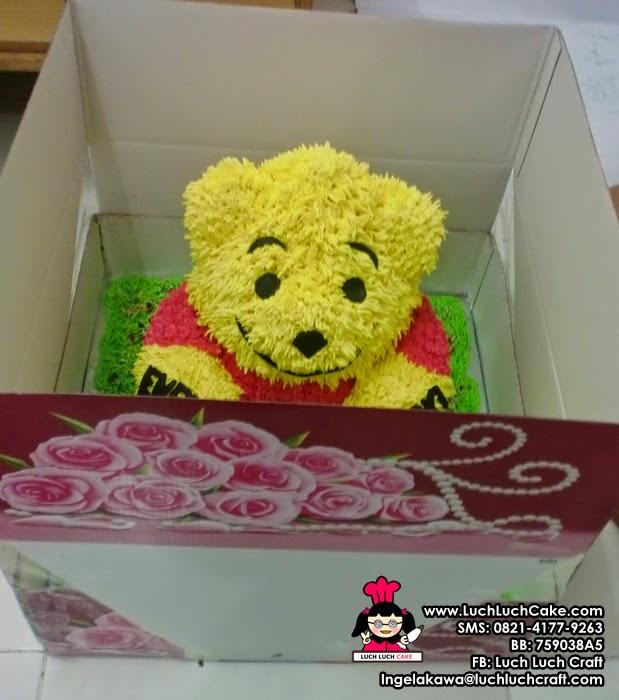 jual kue tart beruang 3D