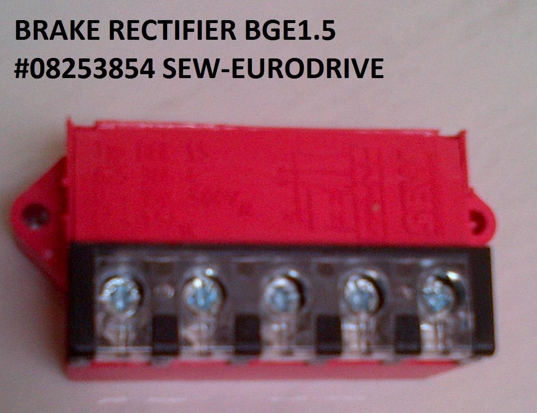 Sew Eurodrive  Brake Rectifier Bge 1 5  08253854 Sew