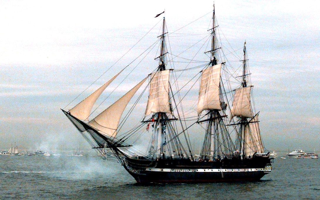 USS Constitution Sailing Ship Wallpaper 1