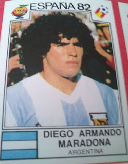 Maradona, 10, Argentina, España 1982,