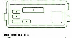 wiring free: Fuse Box Acura 1999 CL Diagram