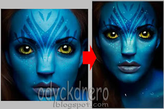 Merubah Photo Menjadi Avatar Dengan Photoshop