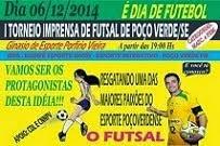 I Torneio Imprensa de Futsal de Poço Verde/SE