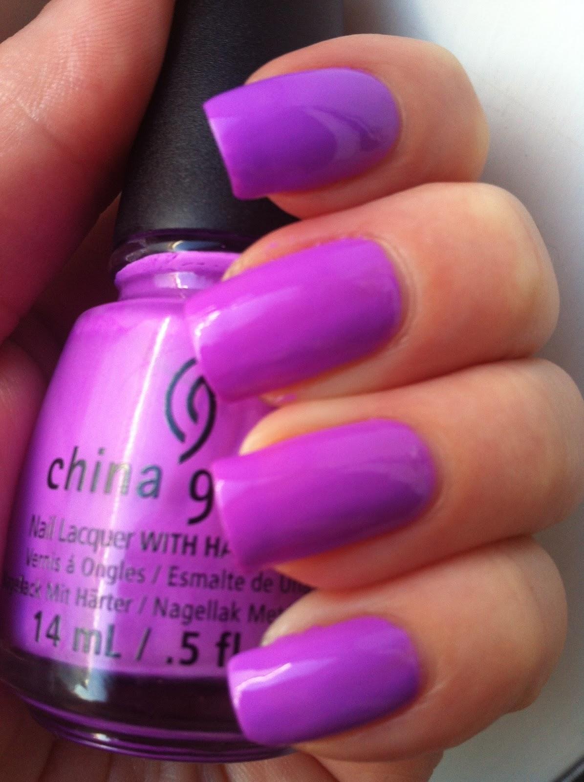 China Glaze Sunsational Summer Neon Collection