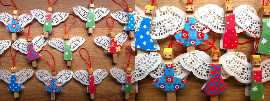 angels singing - Easy Christmas Crafts To Make And Sell
