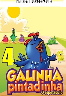 Galinha Pintadinha Vol.4 Torrent Nacional DVDRip
