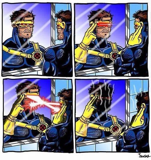 Cười tẹt ga với loạt ảnh chế các nhân vật siêu anh hùng