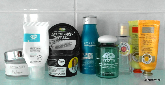 One Little Vice Beauty Blog: November Beauty Empties