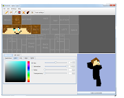 . download a minecraft skin editor, you can download it here .