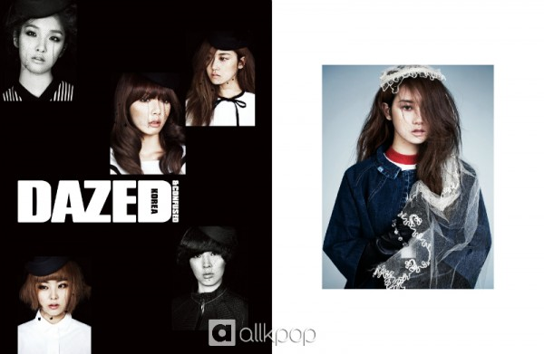 4minute turns into mysterious girls for 'Dazed & Confused'