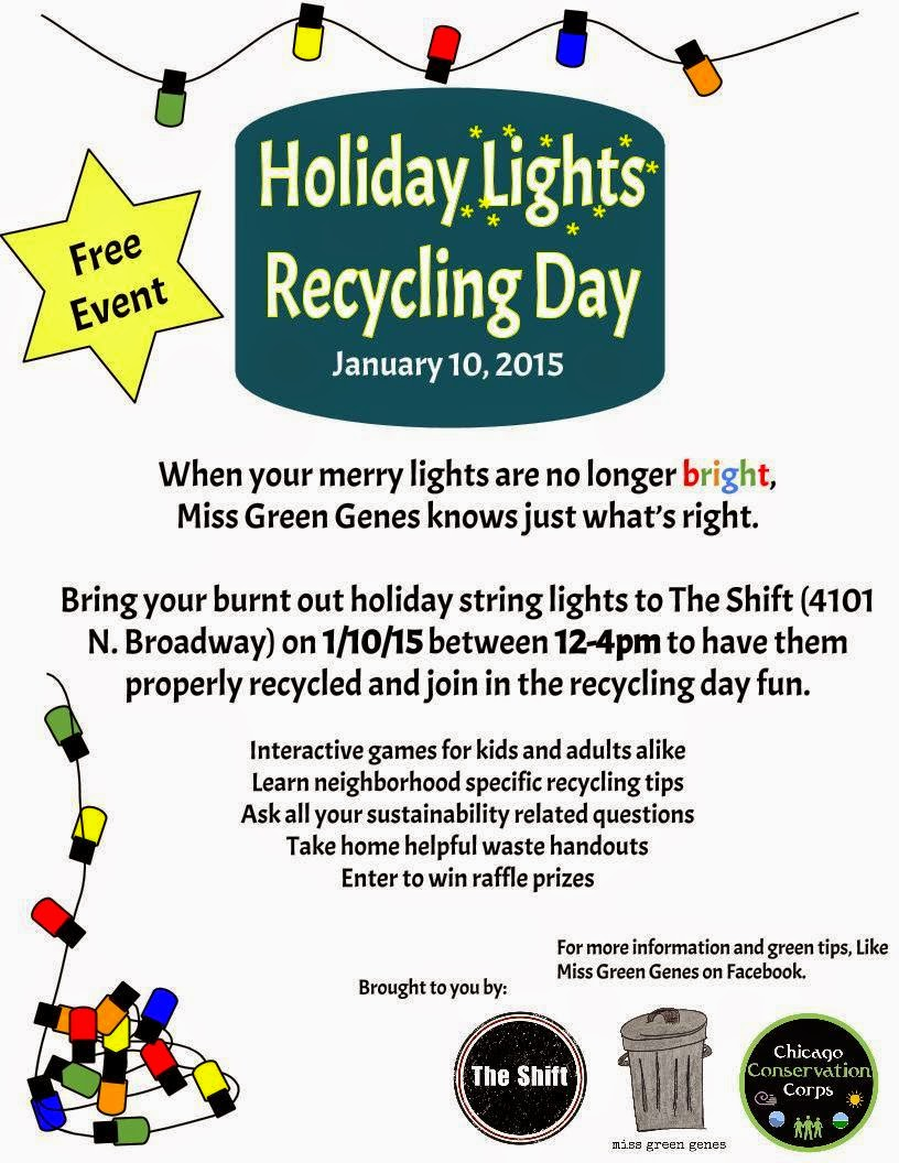 Uptown Update: Recycle Your Burnt Out Holiday Lights At \