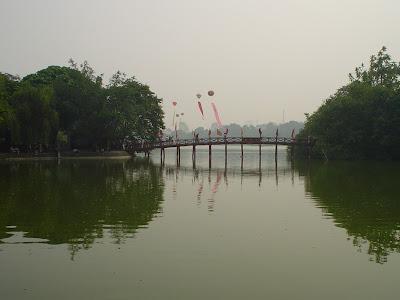 Hoan Kiem, em Hanói, Vietnã