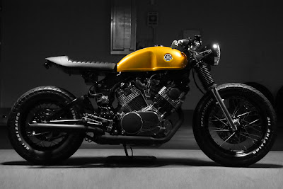 yamaha xv custom - virago 750 old school