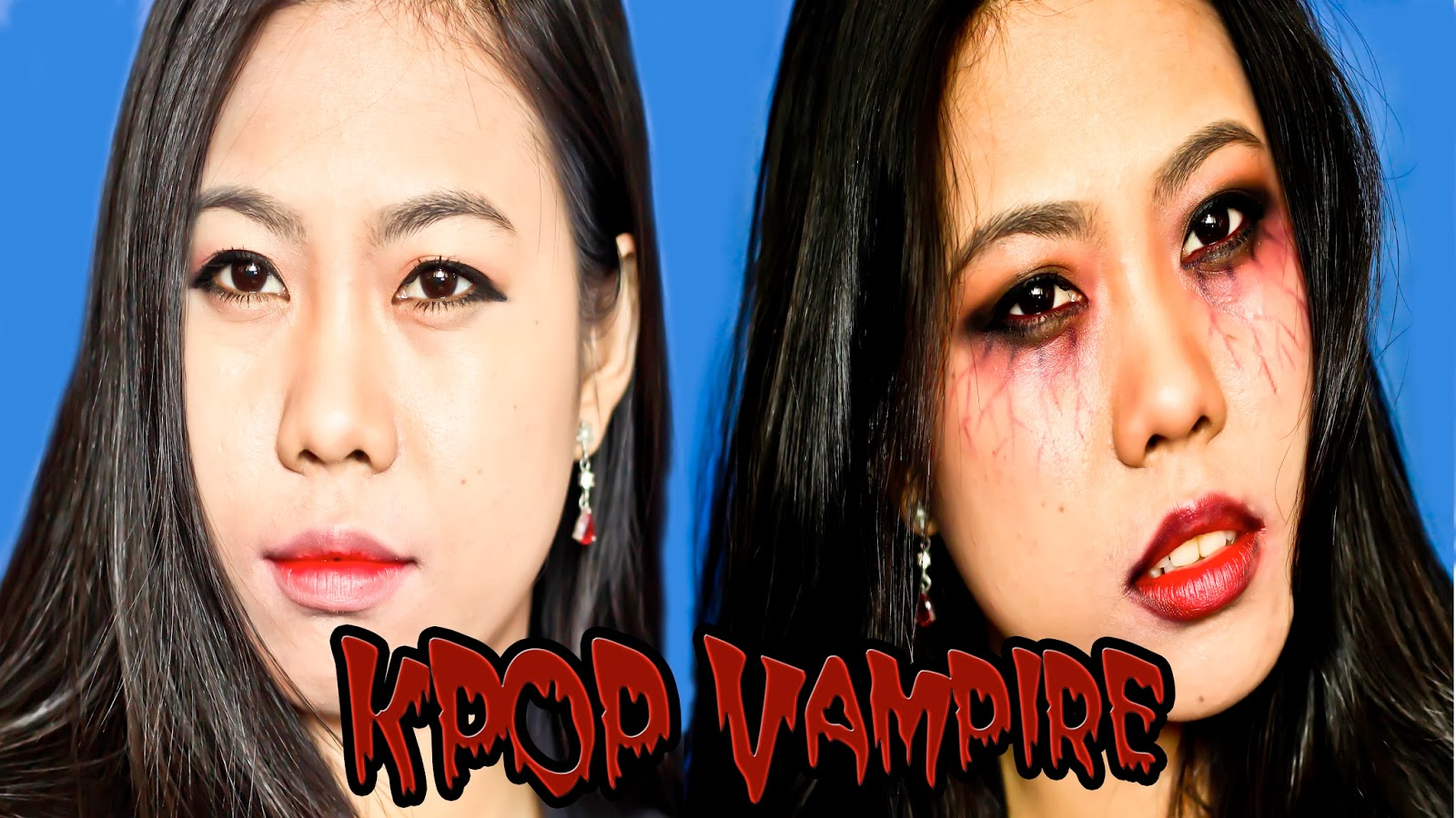 Makeup tutorial how to be a kpop vampire confessions of a late i wanted to say happy halloween but i know not everyone celebrates halloween so to be on the safer side happy november 1st instead baditri Image collections