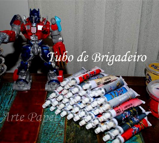 Festa Transformers do Hugo