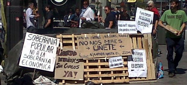 Los mejores carteles de protesta ciudadana del 2011