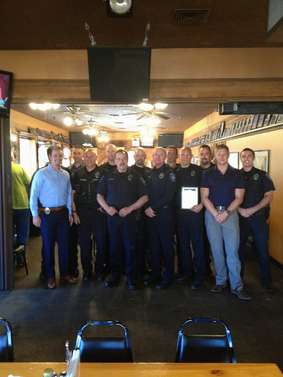 optimist club honors oregon city police