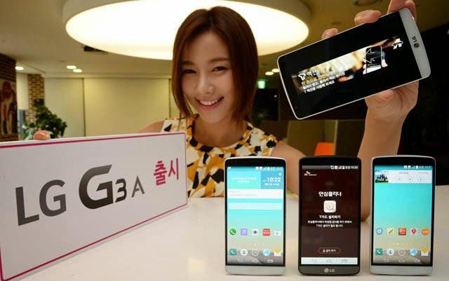 LG G3 A ya fue anunciado en Korea